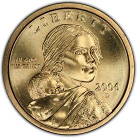 2006-D BU Native American Sacagawea Dollar