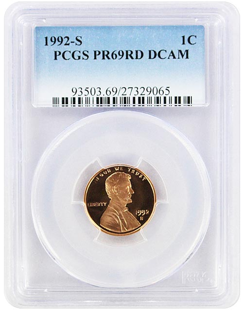 2005-S LINCOLN PROOF CENT 1c PCGS PR69RD DCAM