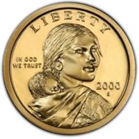 Sacagawea Native American Dollars