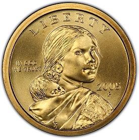 2005 P Bu Sacagawea Dollar Surfcoins
