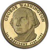 Proof Single Presidential Dollars