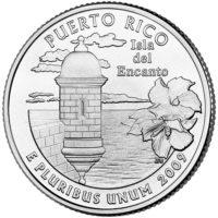BU, Satin Finish and Proof Territory Quarters