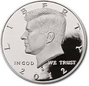 2012-S  PROOF  HALF DOLLAR