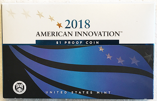 2018 American Innovation Dollar Proof Set