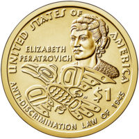 BU, Satin Finish and Proof Sacagawea Native American Dollars