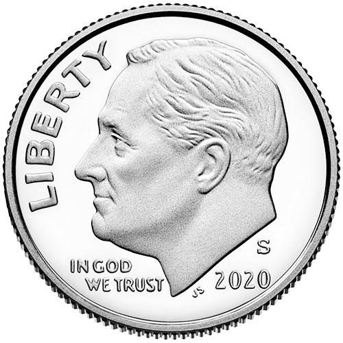 2020 Roosevelt Dimes