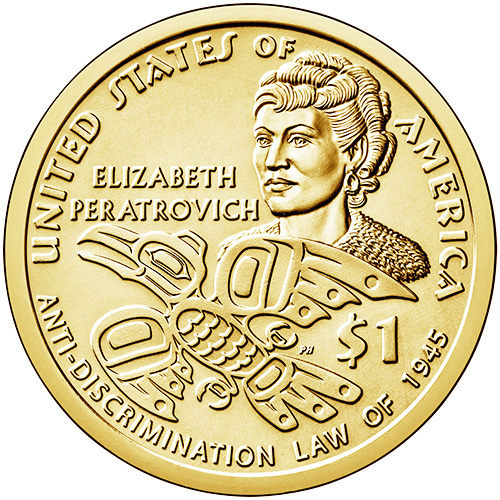2020 Sacagawea Native American Anti-Discrimination Law Dollars