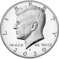 Clad and Silver Proof Kennedy Half Dollars