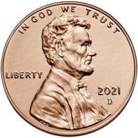 BU Lincoln Shield Cents