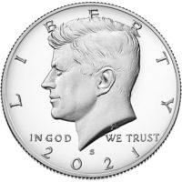 Proof Kennedy Half Dollars