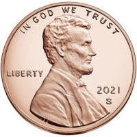 Proof Lincoln Shield Cents